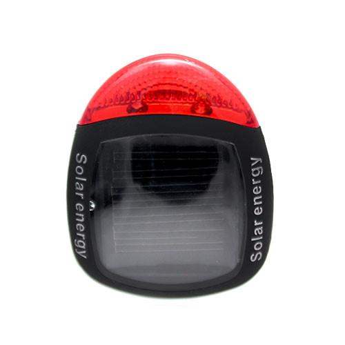 Фонарь задний 2 диода, на солнечной батарейке, велосипедный задний фонарь, задняя фара, стоп сигнал