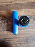 Грипсы пенные Aoperate,ручки для велосипеда на руль, рукоятки для руля велосипеда,велоручки СИНИЕ,гріпси, фото 3