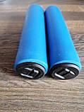 Грипсы пенные Aoperate,ручки для велосипеда на руль, рукоятки для руля велосипеда,велоручки СИНИЕ,гріпси, фото 5