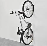 Кріплення для велосипеда на стіну за колесо, кронштейн, тримач для велосипеда, фото 5