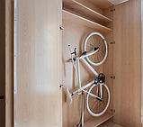 Кріплення для велосипеда на стіну за колесо, кронштейн, тримач для велосипеда, фото 7