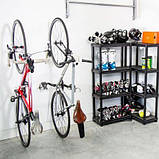 Кріплення на стіну для шосейного велосипеда, підвісний кронштейн, тримач для велосипеда на стіну, фото 2