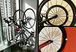 Кріплення на стіну для шосейного велосипеда, підвісний кронштейн, тримач для велосипеда на стіну, фото 6