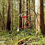 Кріплення на стіну для шосейного велосипеда, підвісний кронштейн, тримач для велосипеда на стіну, фото 7