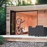 Кріплення на стіну для шосейного велосипеда, підвісний кронштейн, тримач для велосипеда на стіну, фото 8