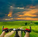 Перчатки велосипедные MySpace L гель,велосипедные перчатки без пальцев с гелевыми вставками под ладонь,гель,L, фото 6