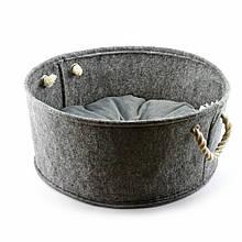 Корзинка без подушки Digitalwool Серый (DW-91-07)