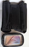 Сумка на раму,велосумка на велосипед для смартфона на телефон 7 ,нарамная сумка, фото 7