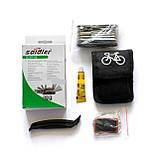 Ремкомплект Soldier для велосипеда в чехле ремнабор латки бортировки мультитул вело, фото 3