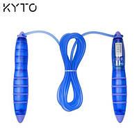 Скакалка цифровая  KYTO JPR-2101 (счетчик прыжков, таймер со звуковым сигналом, часы)