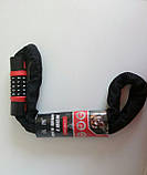 Велозамок-цепь противоугонный,трос кодовый,цепной замок в текстиле, фото 2