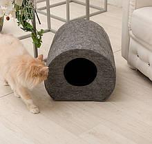 Домик для животных Digitalwool бочка Серый (DW-92-12)