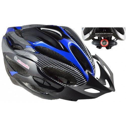 Шлем Soldler со стопом,велошлем со стоп-сигналом,вело шолом,велосипедний шолом,размер регулируется 52-64 см