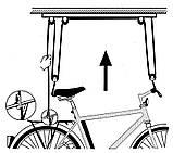 Стельове кріплення, підвісний кронштейн для велосипеда, фото 5