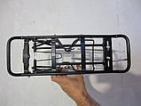 Вело багажник алюміній 24-29 для гальм V-Brake,велосипедний багажник під V-Brake, фото 2