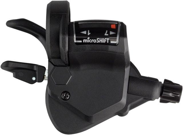 """Монетки (шіфтери) Micro-Shift TS50-7 з тросиками,Перемикач """"манетка"""" лівий (3ск)+правий (7ск) до-кт"""