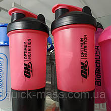 Шейкер Shaker Optimum Nutrition 500ml 2in1