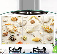 Антижировая, водостійка наклейка для кухні TL923