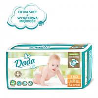 Підгузники Dada №3 Extra soft midi 4-9kg 54шт.