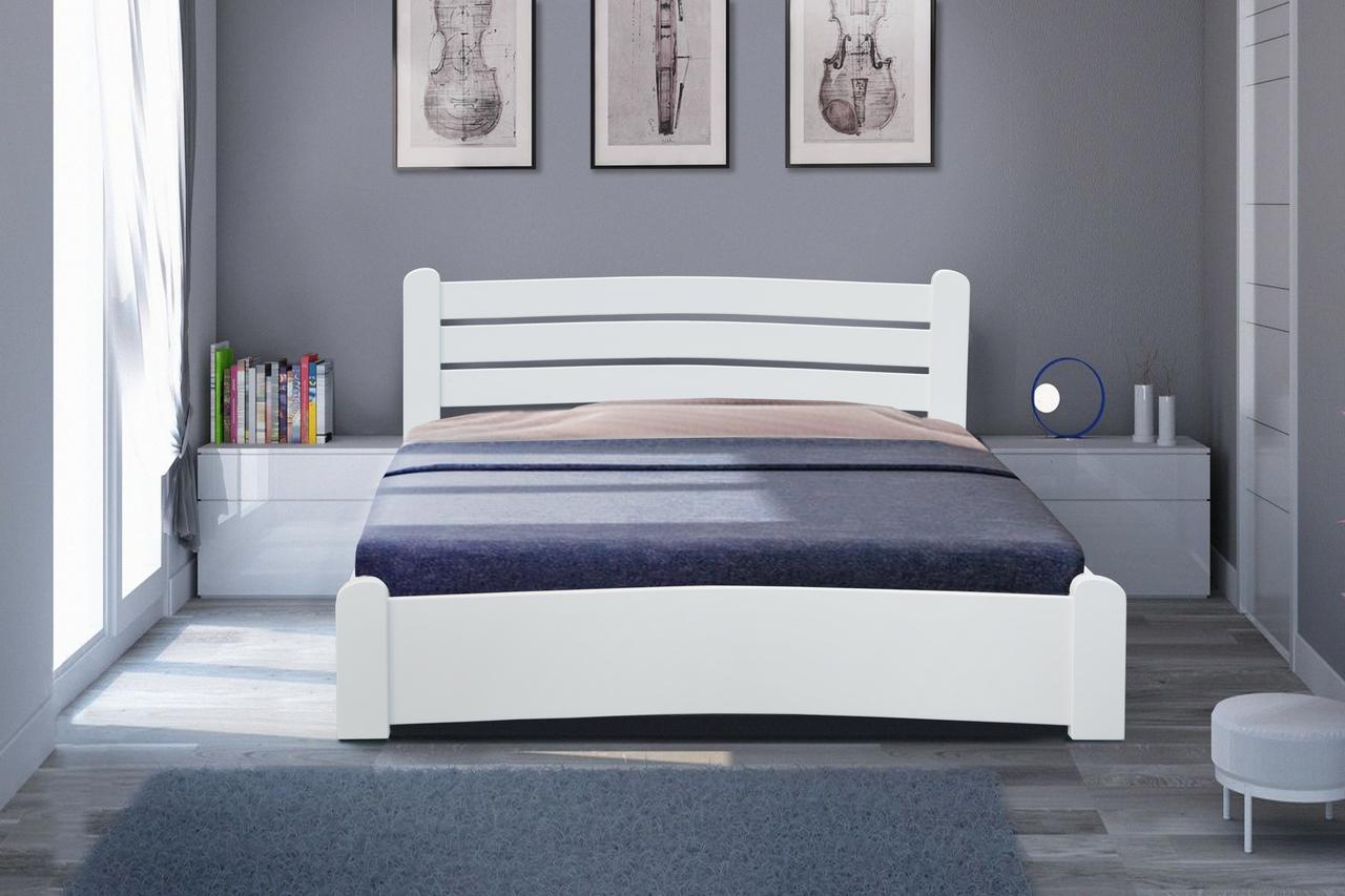 Ліжко Сабріна 160-200 см біла (Елегант)