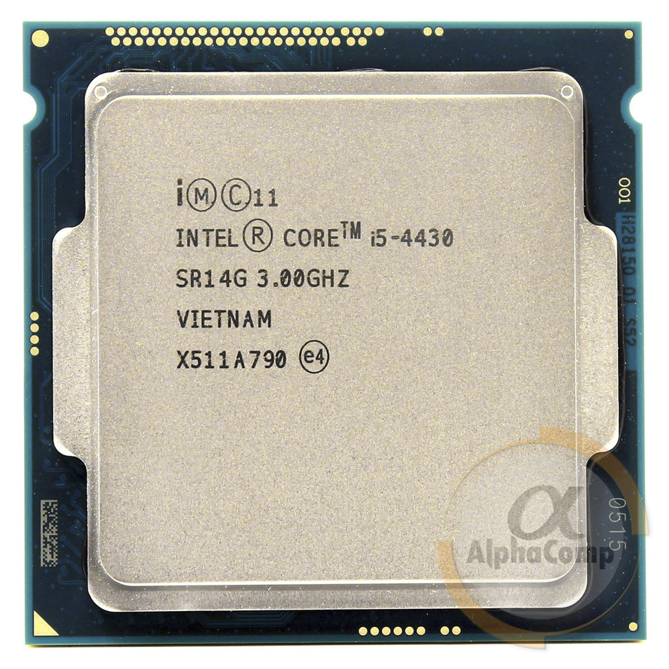Процесор Intel Core i5 4430 (4×3.00 GHz/6Mb/s1150) БО