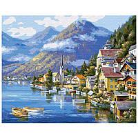 "Картина по номерам ""Австрийский пейзаж"" 40*50см. KpN-01-01U"