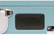 Грамофон, програвач вінілових дисків Denver VPL-120 Brown 3-швидкісний зі стереодинаміками,, фото 2