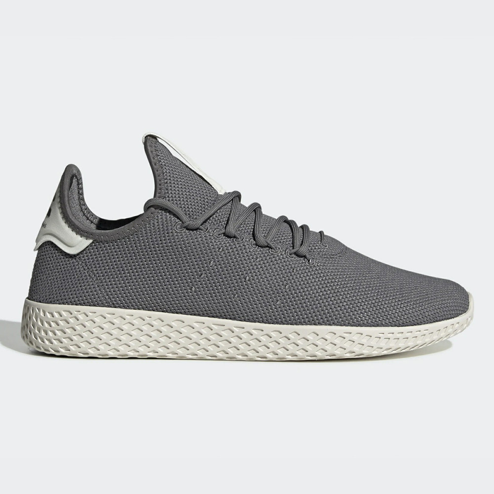 Кроссовки мужские Adidas Pharrell Williams Tennis Huсерые серый (CG7162)