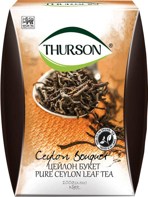 Чорний чай листовий Турсон Букет FBOP 250 грам