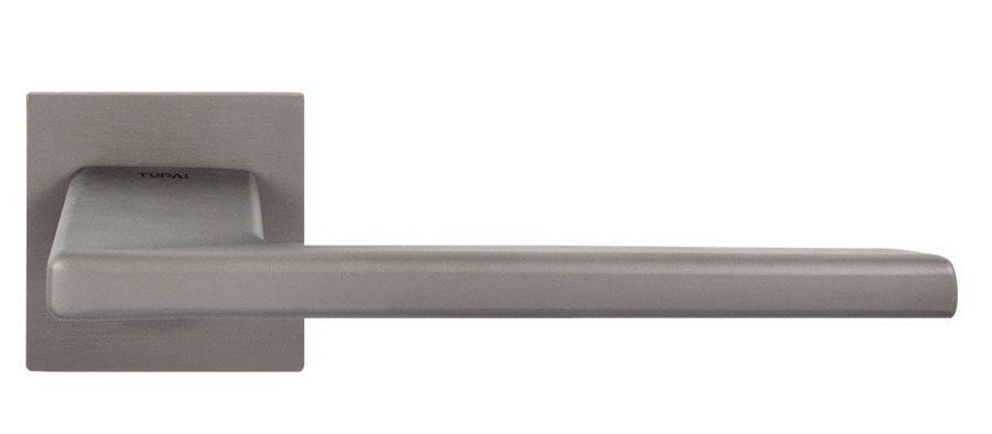 Ручка дверная на розетке Tupai Vizion 4140 Q титан (Португалия)