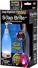 Диспенсер для мила Brite SOAP-MC6 зі світлодіодним підсвічуванням, 7 варіантів заспокійливого кольору