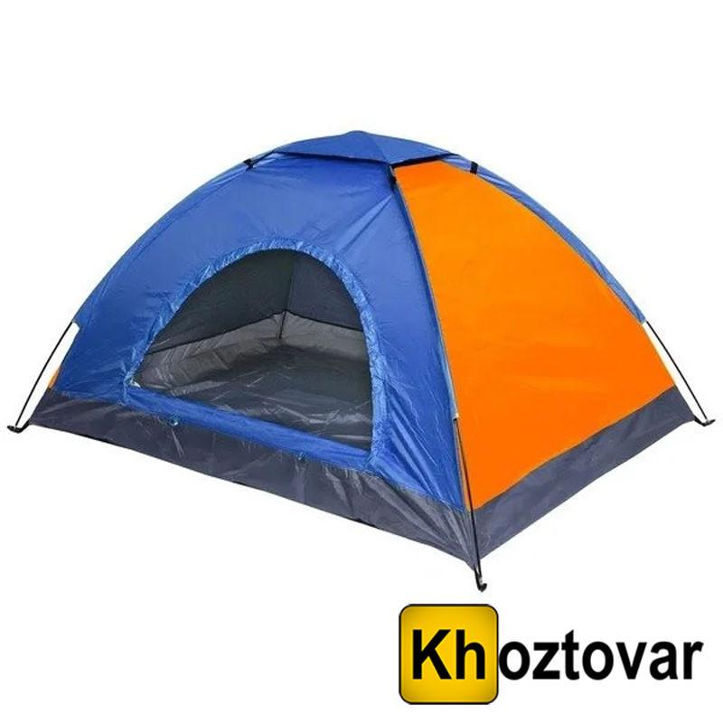 Палатка туристическая трехместная | 200х150х110