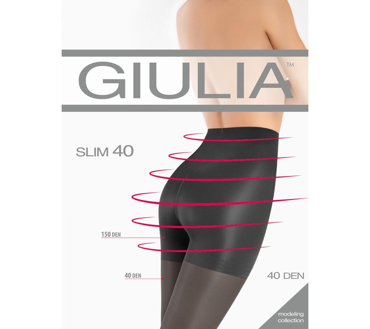 Колготки GIULIA Slim 40, все размеры, все цвета