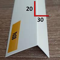 Профиль угловой отделочный из ПВХ 20х30, 2,7 м, фото 1