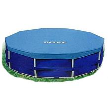 Тент Intex 28030 для круглых каркасных бассейнов, диаметр 305 см