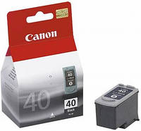 Картридж Canon PG-40Bk iP1600/1700/1800/2200/2500, MP150/170/450, Fax JX200/500, 0615B025