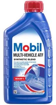 Жидкость АКПП SyntBlend MERCON V MOBIL Mobil-Multi-Vehicle-ATF
