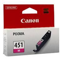 Чернильница Canon CLI-451M (Magenta) PIXMA MG5440/MG6340, 6525B001