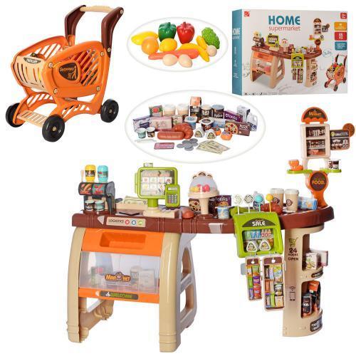 """Игровой набор  """"Магазин, супермаркет"""" с тележкой арт. 668-68"""