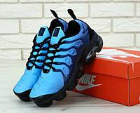 Мужские кроссовки Найк Вапормакс синего цвета 43