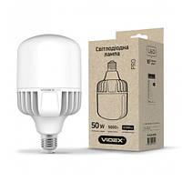 LED лампа Videx A118 50w E40 5000K 220v