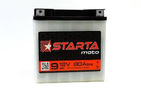Аккумулятор 12v9a.h. (плоская клема)   STARTA