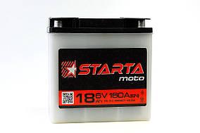 Аккумулятор 6v18a.h. (круглая клема)   STARTA
