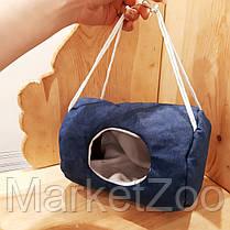 Подвесной домик-гамак для крыс,белок дегу,хомяков,маленьких морских свинок,маленьких шиншилл, фото 2