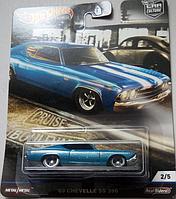 Машинка Хот Вилс коллекционная Car Culture '69 Chevelle SS 396