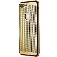 Чехол-накладка DK-Case Перфорация для Apple iPhone 7   8 Plus Золотой 06053-723, КОД: 1710844
