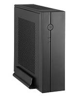Корпус CHIEFTEC Compact IX-01B,без БП,SLIM FF, desktop/tower mITX, IX-01B-OP