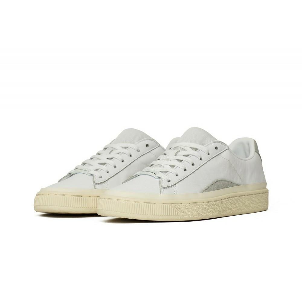 Кроссовки мужские оригинальные Puma Basket HAN кожаные белые
