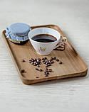 Тарілка для сервірування, дошка для подачі страв дерев'яна Energy Wood 30х20х2см, фото 2