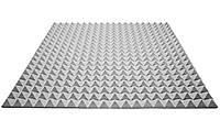 Акустический поролон Ecosound пирамида 25мм 1м х 1м серый, фото 1